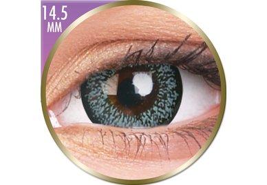 Phantasee Big Eyes - Pearl Grey (2 St. Monatslinsen) – mit Stärke