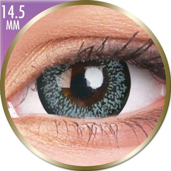 Phantasee Big Eyes - Pearl Grey (2 St. Monatslinsen) – ohne Stärke - Ausverkauf