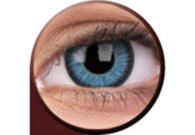 Phantasee Vivid - Blue (2 St. 3-Monatlinsen) - mit Stärke