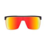 Sonnenbrille SPY FLYNN - Black/white Red - happy