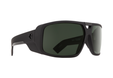 Sonnenbrille SPY TOURING - Soft Matte Black - happy