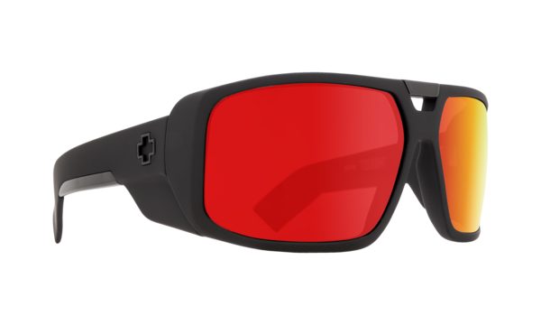 Sonnenbrille SPY Touring Matte Black Red