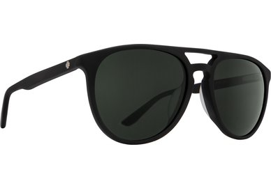 Sonnenbrille SPY SYNDICATE Matte Black - Grey Green