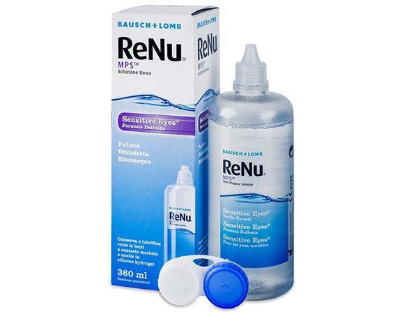 ReNu MPS Sensitive Eyes 360 ml mit Behälter