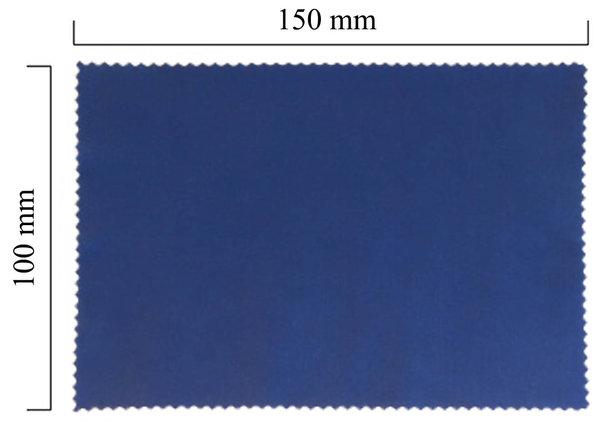Mikrofaser Brillenputztuch – violett 100x150