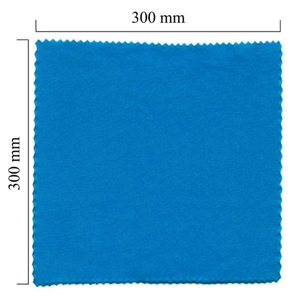 Mikrofaser Brillenputztuch – blau 300x300