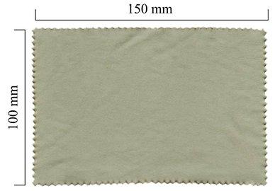 Mikrofaser Brillenputztuch – grau 100x150