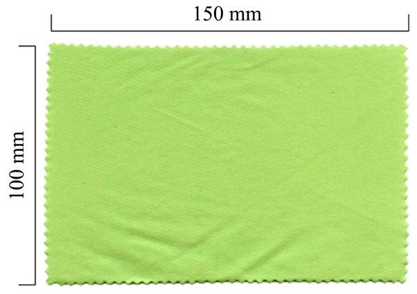 Mikrofaser Brillenputztuch – grün 100x150