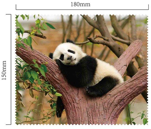Mikrofaser Brillenputztuch – Pandabär