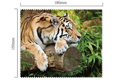 Mikrofaser Brillenputztuch – Tiger