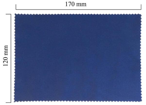 Mikrofaser Brillenputztuch – violett 120x170