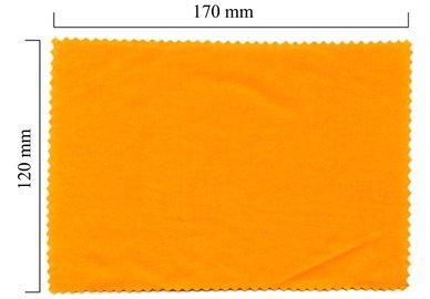 Mikrofaser Brillenputztuch – orange 120x170