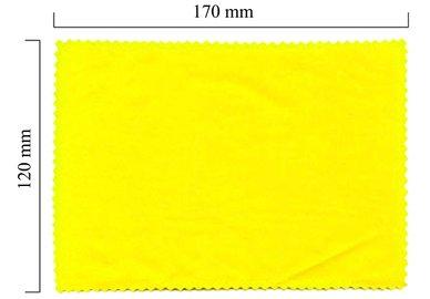 Mikrofaser Brillenputztuch – gelb 120x170