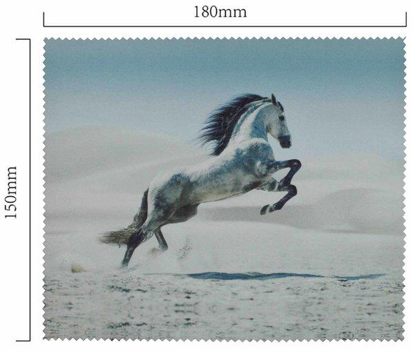 Mikrofaser Brillenputztuch – Pferd