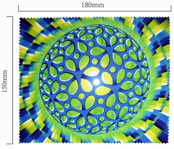 Mikrofaser Brillenputztuch – optische Täuschung