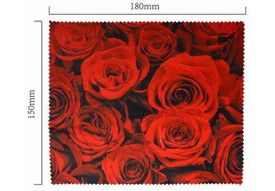 Mikrofaser Brillenputztuch – der Rose