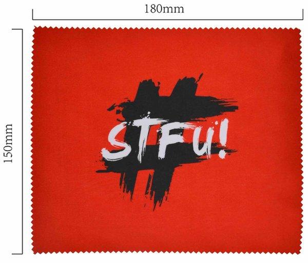 Mikrofaser Brillenputztuch – STFU