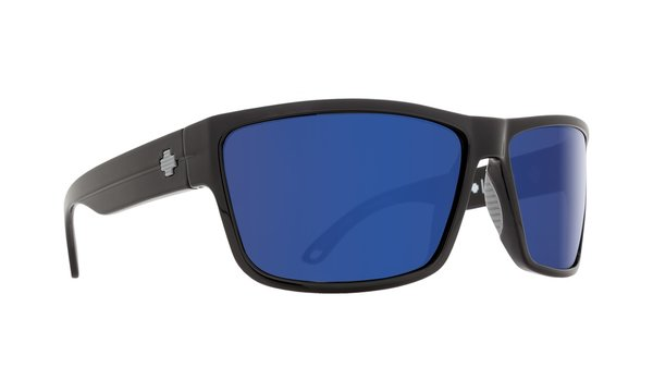 Sonnenbrille SPY ROCKY - Black Blue - happy polar