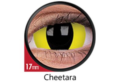 ColorVue Crazy  Kontaktlinsen 17 mm - Cheetara (2 St. Jahreslinsen) – ohne Stärke