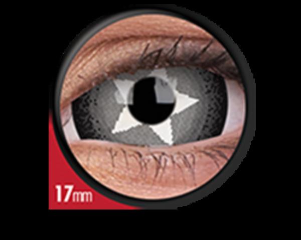 ColorVue Crazy  Kontaktlinsen 17 mm - Stargazer (2 St. Jahreslinsen) – ohne Stärke