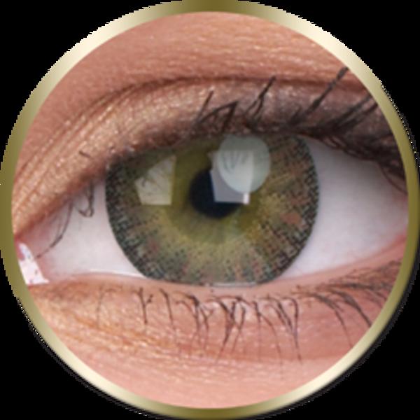 Phantasee Natural - Brown (2 St. 3-Monatlinsen) - ohne Stärke