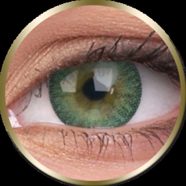 Phantasee Natural - Green (2 St. 3-Monatlinsen) - ohne Stärke