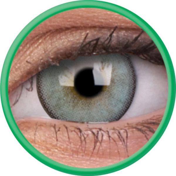 ColorVue Lumina - Gleaming green (2 St. 3-Monatlinsen) -  mit Stärke