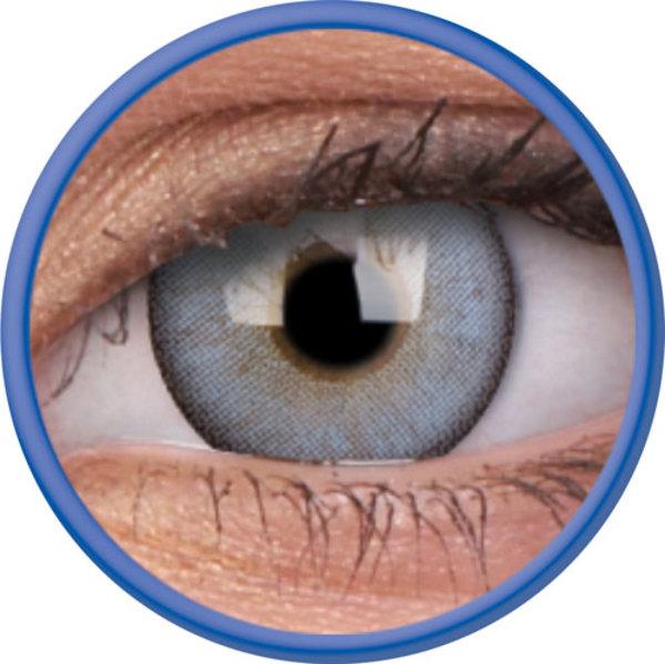ColorVue Lumina - Sparkling Blue (2 St. 3-Monatlinsen) -  mit Stärke