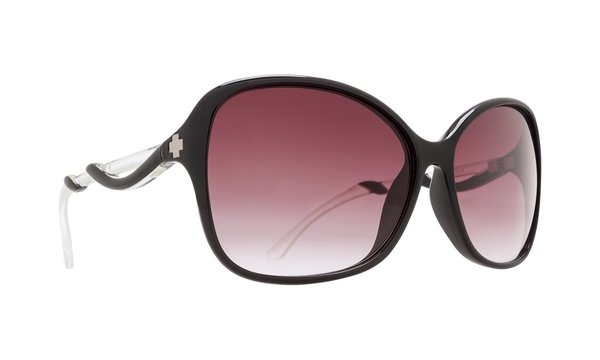Sonnenbrille SPY FIONA Black / Clear