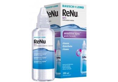 ReNu MPS Sensitive Eyes 120 ml mit Behälter