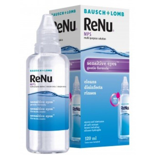 ReNu MPS Sensitive Eyes 120 ml mit Behälter