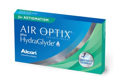 Air Optix plus HydraGlyde for Astigmatism (3 Linsen)