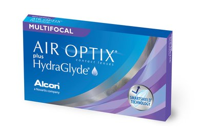 Air Optix plus HydraGlyde Multifocal (6 Linsen)