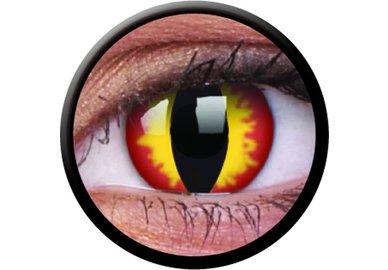ColorVue Crazy-Kontaktlinsen - Dragon Eyes (2 St. Tageslinsen) – ohne Stärke