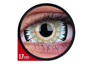 ColorVue Crazy  Kontaktlinsen 17 mm - Galactus (2 St. Jahreslinsen) – ohne Stärke