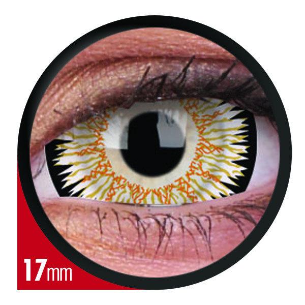 ColorVue Crazy  Kontaktlinsen 17 mm - Orbitron (2 St. Jahreslinsen) – ohne Stärke