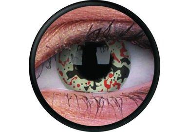 ColorVue Crazy Kontaktlinsen - Alien Nation (2 St. Jahreslinsen) – ohne Stärke