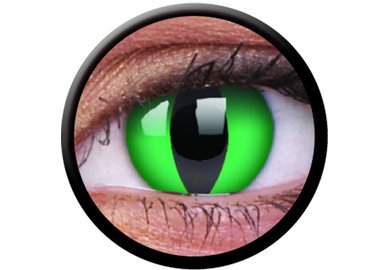 ColorVue Crazy Kontaktlinsen - Anaconda (2 St. Jahreslinsen) – ohne Stärke