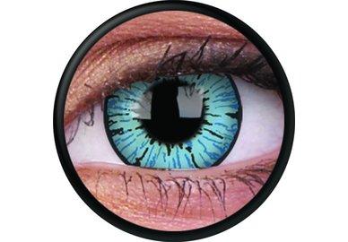 ColorVue Crazy Kontaktlinsen - Blizzard (2 St. Jahreslinsen) – ohne Stärke