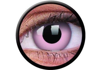 ColorVue Crazy Kontaktlinsen - Barbie Pink (2 St. Jahreslinsen) – ohne Stärke