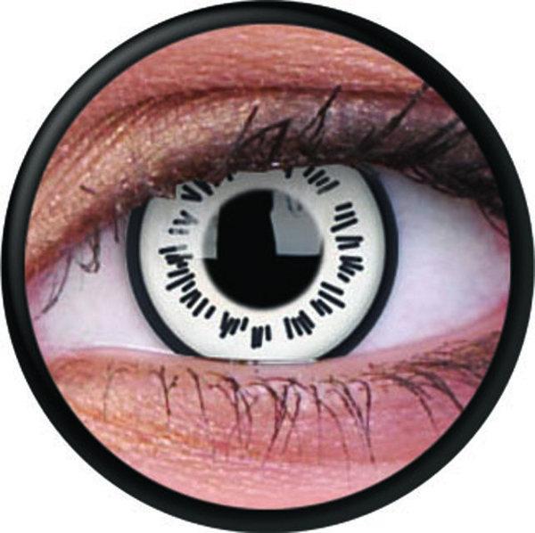 ColorVue Crazy Kontaktlinsen - Byakugan (2 St. Jahreslinsen) – ohne Stärke