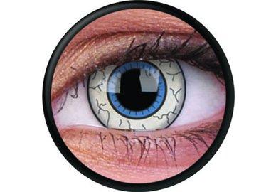 ColorVue Crazy Kontaktlinsen - Comic Eye (2 St. Jahreslinsen) – ohne Stärke