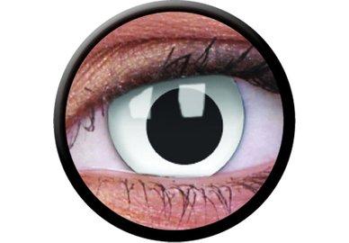 ColorVue Crazy Kontaktlinsen - Cross Eyed (2 St. Jahreslinsen) – ohne Stärke