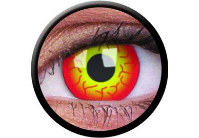 ColorVue Crazy Kontaktlinsen - Darth Maul (2 St. Jahreslinsen) – ohne Stärke