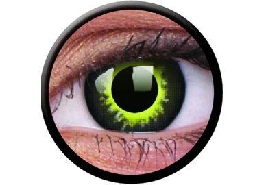 ColorVue Crazy Kontaktlinsen - Eclipse (2 St. Jahreslinsen) – ohne Stärke