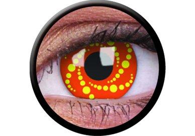 ColorVue Crazy Kontaktlinsen - Energy (2 St. Jahreslinsen) – ohne Stärke