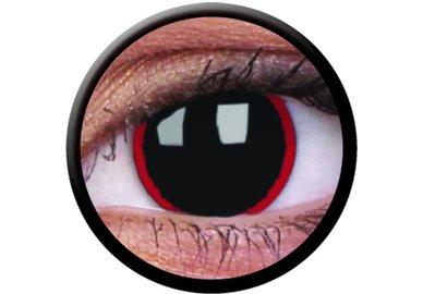 ColorVue Crazy Kontaktlinsen - Hellraiser (2 St. Jahreslinsen) – ohne Stärke