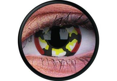 ColorVue Crazy Kontaktlinsen - Klaw (2 St. Jahreslinsen) – ohne Stärke