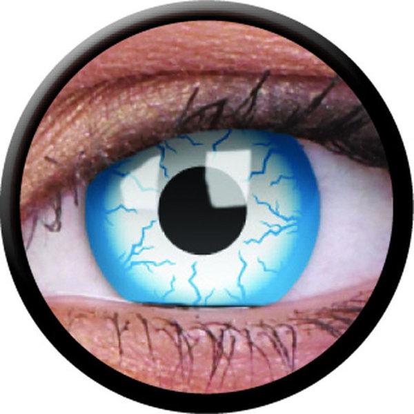 ColorVue Crazy Kontaktlinsen - Lightning (2 St. Jahreslinsen) – ohne Stärke