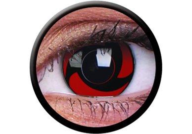 ColorVue Crazy Kontaktlinsen - Mangekyu (2 St. Jahreslinsen) – ohne Stärke